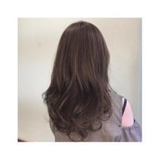 細かいハイライトで透明感+ ash beige ♡ La  Sente  心斎橋所属・kanzakimioのスタイル