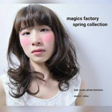 magics factory所属・深川健太郎のスタイル
