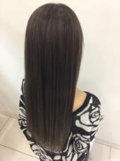 ナノスチームを使ったハホニコトリートメントで重なるダメージを受けた髪も憧れの艶髪に☆ LUCK京王多摩センター所属・鶴田みさきのスタイル