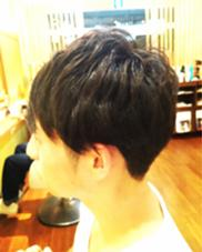 ゆるふわパーマ 刈り上げ ショート LeLe hairみさきのスタイル