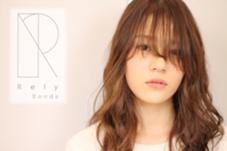 シースルーうざバングロング巻き髪 Rely Bonds所属・HigashinoHiroakiのスタイル