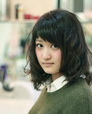 ウェット感のあるパーマ Luce hair design所属・大橋俊之のスタイル
