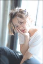 外国人風の透明感あるカラー 今時の簡単無造作アレンジ Luta所属・和泉田瞳のスタイル