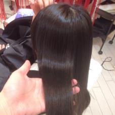 コスメ登録の優しい薬剤なので驚きの柔らかさと艶がでますよ。 hair make MUSE自由が丘店所属・野出貴弘のスタイル