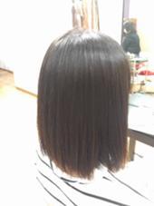 【縮毛矯正】まっすぐ×つや(1500yen) LUNA所属・もとよしさきのスタイル