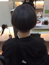 カットカラー カットをやらせていただきました。 QUATRO  小山店所属・石井真菜美のスタイル