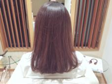 hair and make NEU所属・はまわきまりなのスタイル