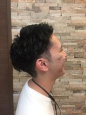 パーマカット✂︎ 玉城光のメンズヘアスタイル・髪型
