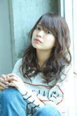 エフォートレスなセミロングはパーマでつくれちゃう☆ ルアール渋谷所属・ルアールタケのスタイル
