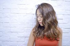 ハイライト×アッシュベージュカラー  Hairsalon F所属・hamaishioriのスタイル