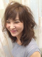 モテヘアーの醍醐味ユルフワ巻きです☆ Hair&Care T-ties所属・T-tiesTAKAのフォト