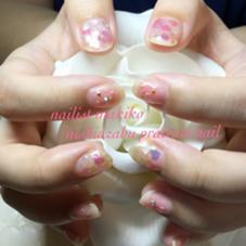 ハートホロ×夏チークネイル✨ nishiazabu private nail所属・nailartistmakikoのフォト