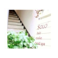 二階にある静かなサロン SOLO所属・ウエタシンヤのスタイル