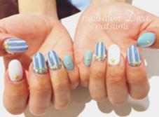 夏ネイル nail salon Diva甲子園口店所属・毛利菜摘のフォト