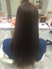 ナチュラルブラウン HAIR MAKE  Ash所属・橋本春菜のスタイル