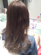 グレーアッシュ×ブルージュグラデーション HAIR & MAKE EARTH  金山店所属・RYO-のスタイル