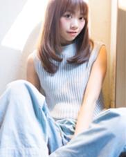 スプリングストレート LOGICA HAIR DESIGN所属・衣笠雅俊のスタイル