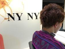 サイドと後ろの中を借り上げて上の毛をかぶせることで収まりgood!!! NYNY所属・岩破瑞希のスタイル