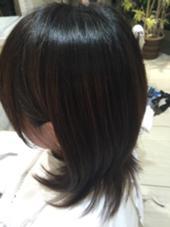 20代、ロングに向けて毛先を整えて、可愛らしい前髪、結びやすいように内側を軽く PROGRESS 大泉学園店所属・藤田翔士のスタイル