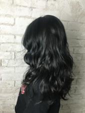 ブルーアッシュ 林美佐のヘアスタイル・ヘアカタログ