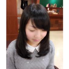 黒髪ナチュラルスタイル♡ Mkasumiのスタイル