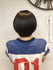シンプルだけど可愛いグラデーションカットスタイルです。 agu所属・植田俊樹のスタイル