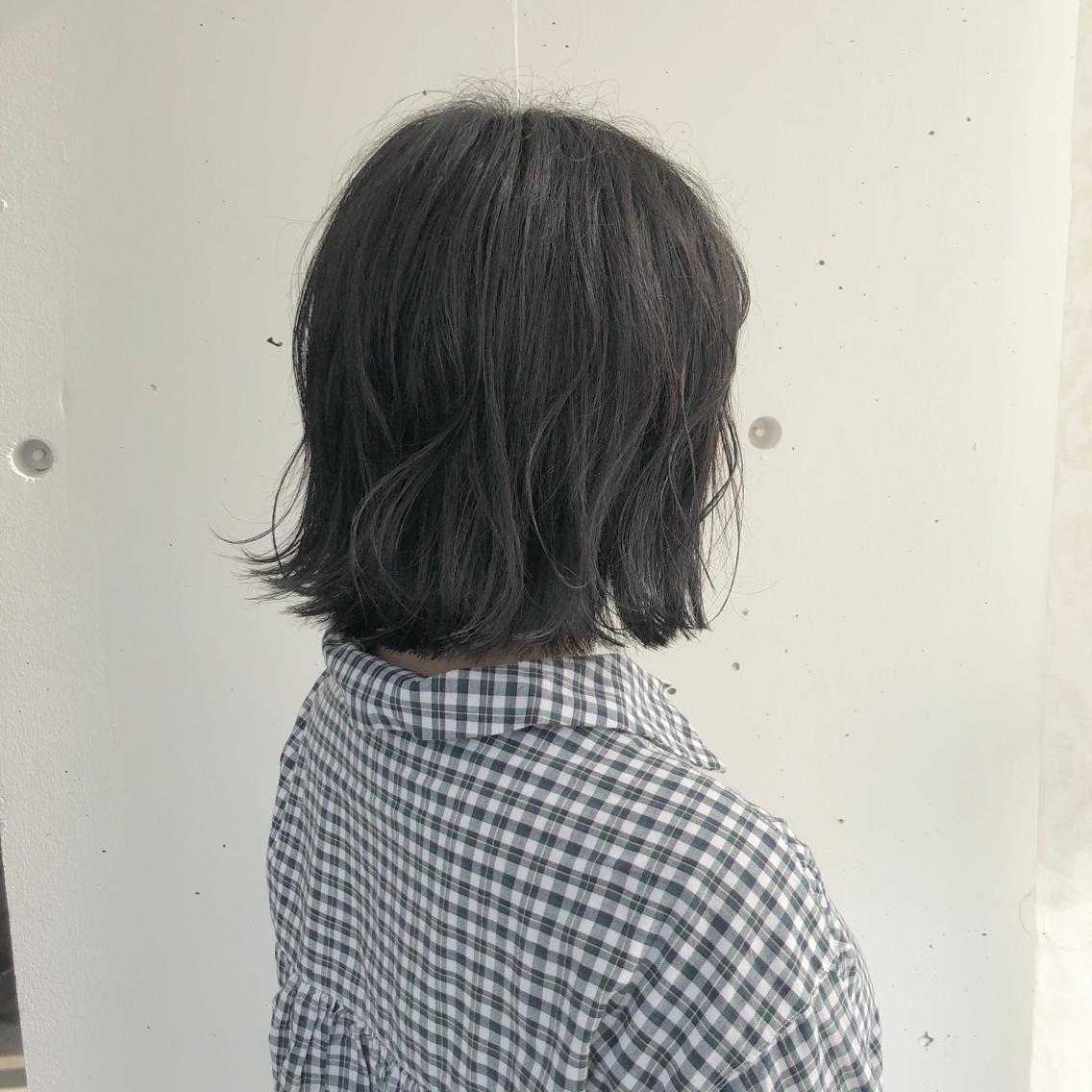 #ショート #カラー #パーマ #ヘアアレンジ 【切りっぱなしボブ】  Instagramにもヘアスタイル載せてますので是非♪♪  https://instagram.com/yuuki_matsui_/