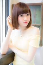 【オリジナル縮毛矯正】×ボブスタイル angelgaff所属・森田真一郎のスタイル