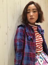 【外国人風くせ毛パーマ】 dejave  hair&space所属・龍崎絵里香のスタイル