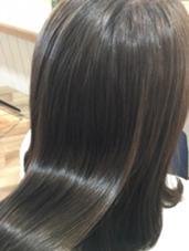 クリスタルミルキーカラー✂︎ 【フレンチセピア】 アッシュとベージュをかけあわせた透き通るカラー(*´ω`*) hair life design Suah所属・なかしましょうこのスタイル