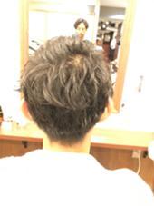 スッキリ刈り上げスタイル mu;d&latte所属・金子英治のスタイル