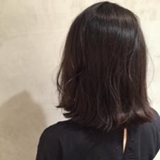 黒髪外ハネボブ✨ 大人っぽくて可愛い! LakotA所属・小林亨のスタイル
