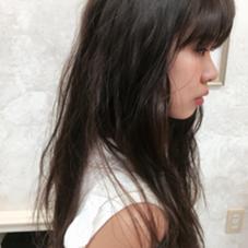 ルーシッドグレイアッシュ*ダークトーンでも髪のある場所を調整してしてあげるだけで叶う魔法のヘアカラー*暗いトーンでもオシャレを楽しみたい子にオススメ* kirana sari所属・松本功平のスタイル