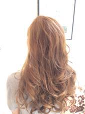人気カラー 外国人風♪全体に細かなハイライト グレージュ HAIR&MAKE    EARTH横浜店所属・上園義幸のスタイル