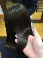 艶髪! アッシュマット  アウトバストリートメント、アイロン、ブロー、写真加工なしです! タナカキヨヒロのスタイル