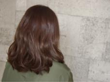 ラベンダーベージュ  この季節にぴったりの柔らかい色です!  RISAgranche所属・渕上寛太のスタイル