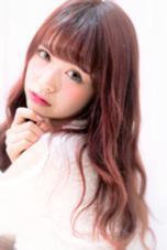 とっても綺麗なベリーピンクで キュートな印象に♪ ✂️⭕️【NaturalControl     Harajuku】⭕️✂️所属・⭕️スタイル人気No.1牛島利之⭕️のスタイル