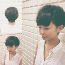 動きのある可愛さ重視のショート色気も最高 CAPA能見台所属・笹川眞子のスタイル