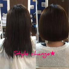 style change✩ ky-go.hakata内所属・RINAのスタイル