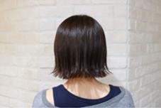 切りっぱなしボブスタイル☆ 直毛の方でも楽しめます! neolive citta所属・柴田幸祈のスタイル