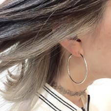 隠れお洒落な耳上インナーカラー( ´・ω・`) あなたもお洒落に楽しく(՞ټ՞☝ 藤本淳一のスタイル