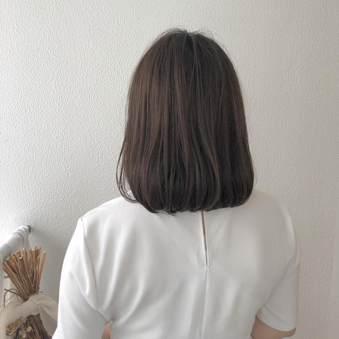#ショート #カラー #パーマ #ヘアアレンジ 【natural bob】  Instagramにもヘアスタイル載せてますので是非♪♪  https://instagram.com/yuuki_matsui_/