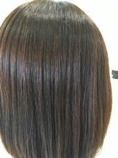 髪質改善カラー+ボリュームダウントリートメントで サラピカな髪に!カラーしながら栄養補給。 プラウド所属・坂野健二のスタイル