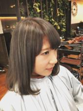 Wカラー ハイライト 外国人風ダークアッシュ Agu hair RIDE所属・Agu hairRIDEのスタイル