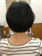 丸みを強調したボブ 松本平太郎美容室   立川店所属・富田隼仁のスタイル