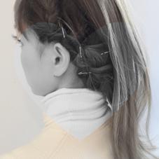 巻き髪に飽きたら ストレートも新鮮。。♡ marin.のスタイル