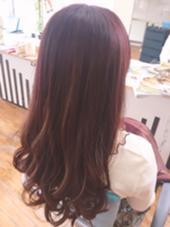 フェミニンピンク 美容室Lino所属・砂川翔のスタイル