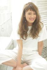 ふわふわウェーブ◎ model 吉村 遥 Lee心斎橋 west店所属・YamashitaSatoshiのスタイル
