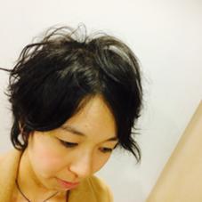 クセぐらいの くしゃっとパーマ LIM所属・前田ジュンのスタイル