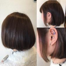 ポイントカラー さりげなピンク ALMO  hair design所属・小林優のスタイル